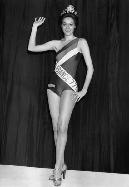 Miss France 1977, Veronique Fagot