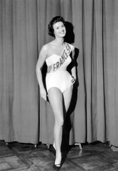 Miss France 1954, Irène Tunc