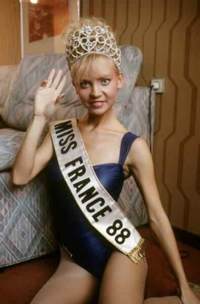 Miss France 1988, Sylvie Bertin