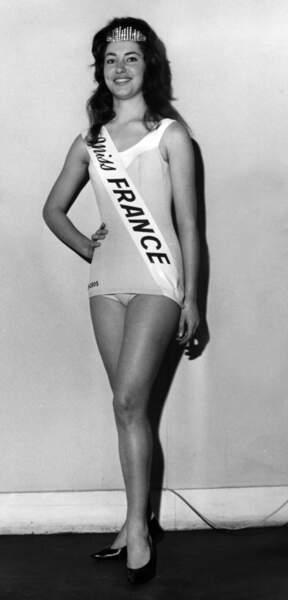 Miss France 1962, Monique Lemaire,