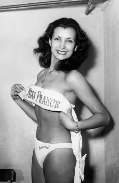 Miss France 1949, Juliette Figueras