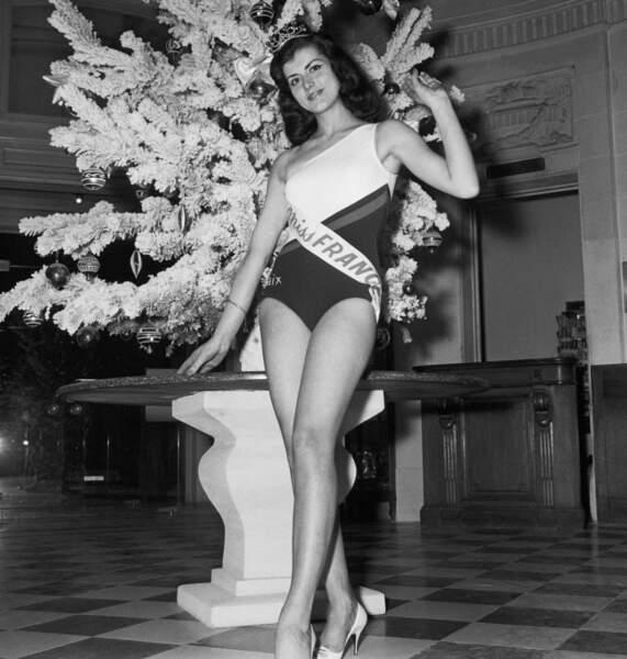 Miss France 1965, Christiane Sibellin