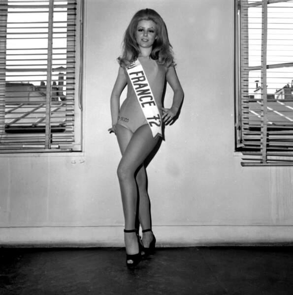 Miss France 1972, Claudine Cassereau