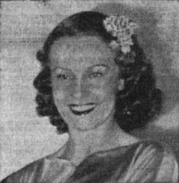 Miss France 1939, Ginette Catriens