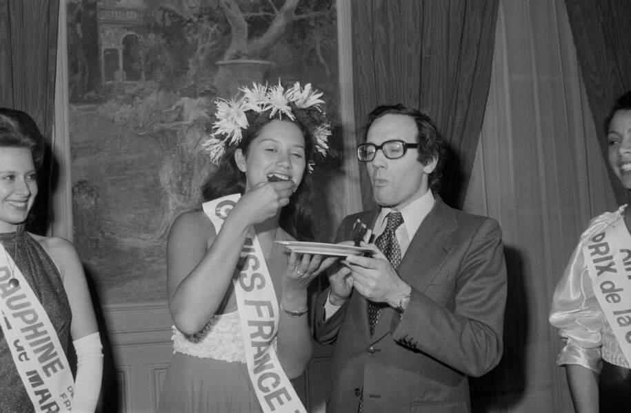 Miss France 1974, Edna Tepava