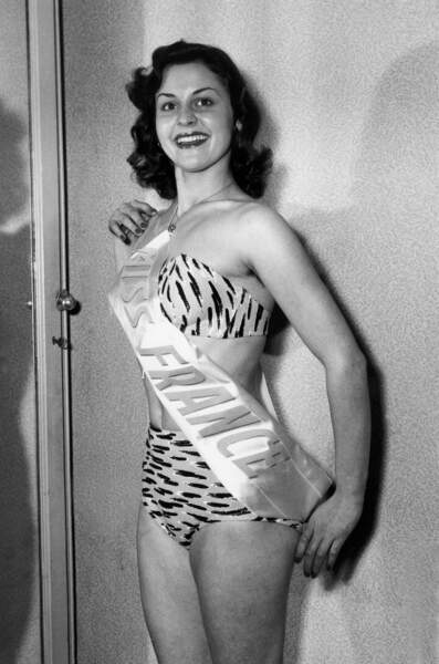 Miss France 1953, Sylviane Carpentier