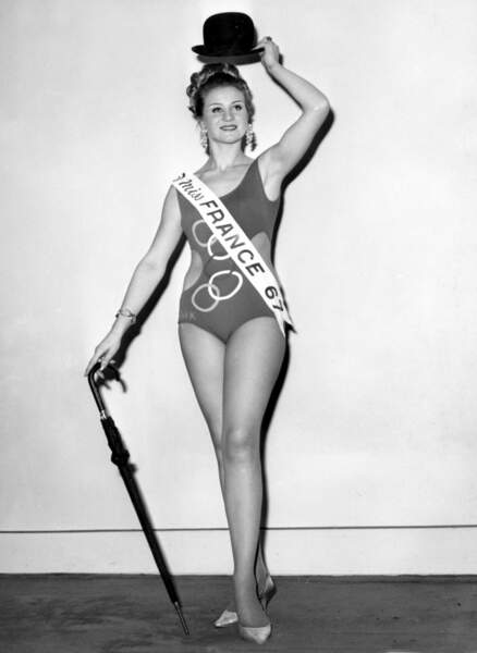 Miss France 1967, Jeanne Beck