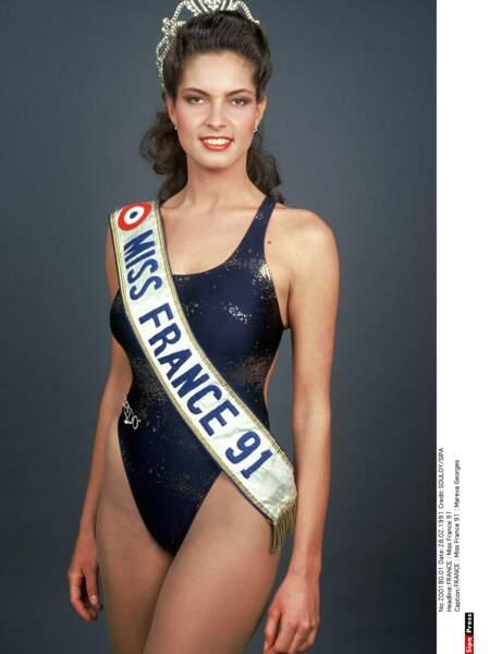 Miss France 1991, Mareva Georges