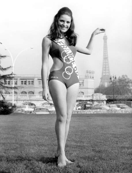 Miss France 1968, Christiane Lillio
