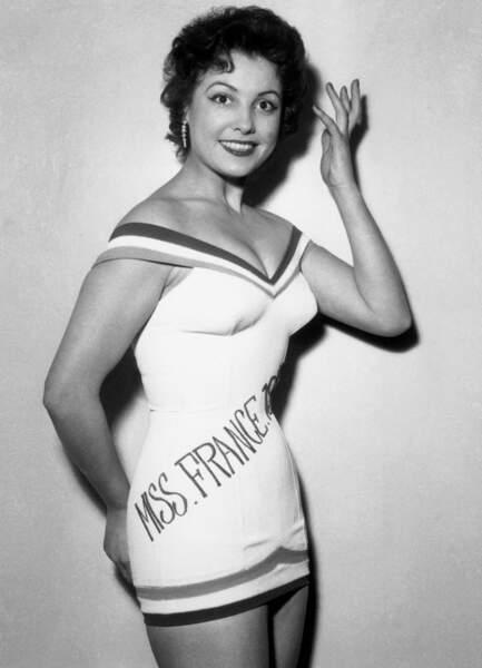Miss France 1955, Véronique Zuber