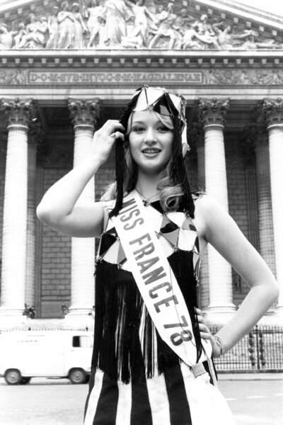 Miss France 1978, Brigitte Konjovic