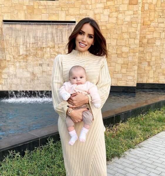 Angelina, la fille de Manon Tanti, a désormais trois mois.