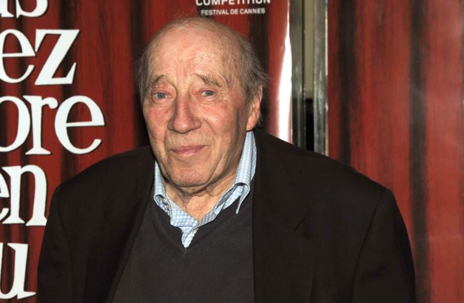 Michel Robin, comédien, disparu le 18 novembre à 90 ans