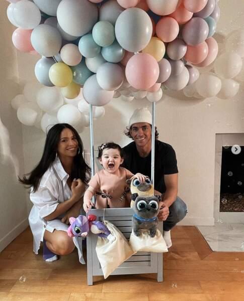 Frankie, la fille de la chanteuse Cassie, a fêté son tout premier anniversaire.