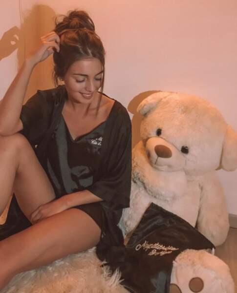 """En pyjama personnalisé """"Miss Côte d'Azur"""""""
