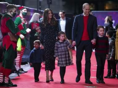 George, Charlotte et Louis : première sortie sur le tapis rouge avec Kate Middleton et le prince William