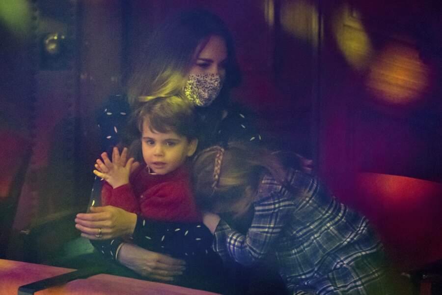 …Et s'est reposée dans les bras de sa mère