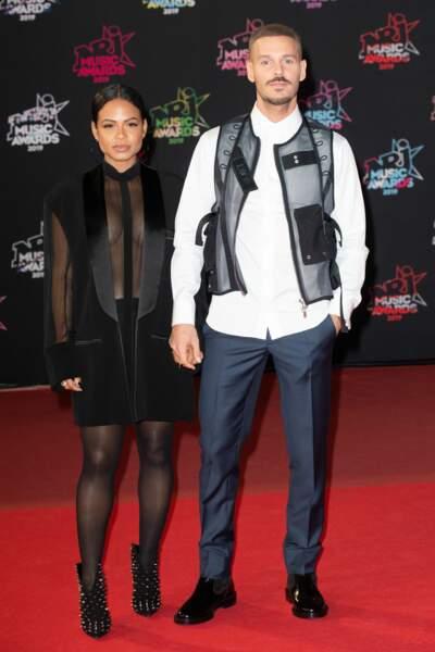 Le 9 décembre, M Pokora et sa compagne Christina Milian se sont dit oui à la mairie du 8ème à Paris