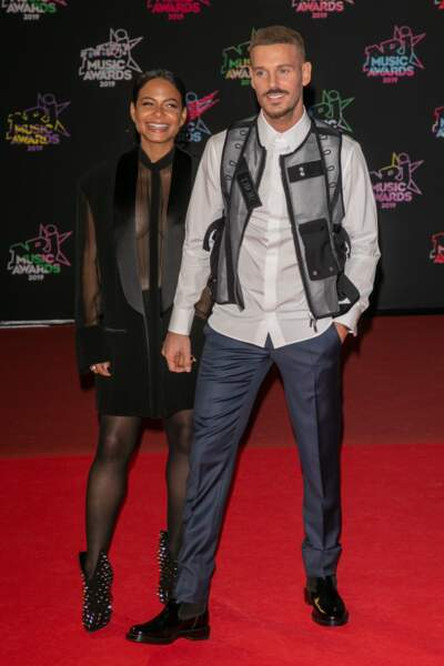 Christina Milian et Matt Pokora ont accueilli....
