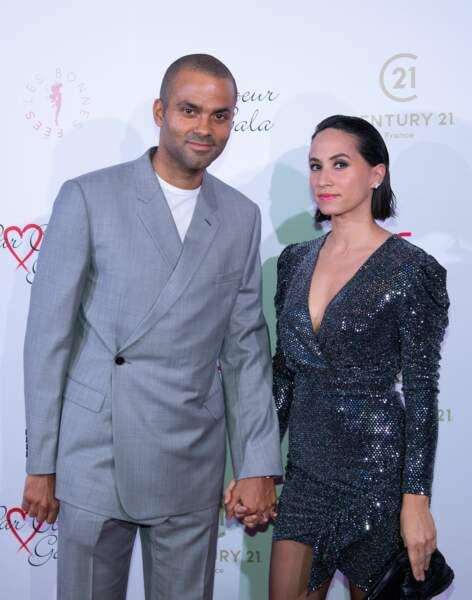 Tony Parker & Axelle Francine  Second divorce pour TP, l'ancien champion de la NBA