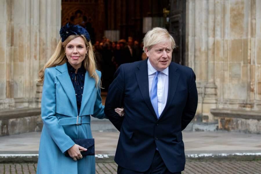 A peine remis du Covid-19, le premier ministre Britannique a pu être présent  à l'accouchement de sa fiancée Carrie Symonds
