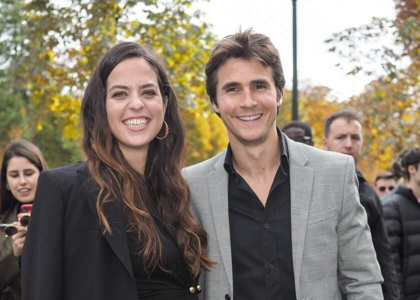Anouchka Delon et Julien Dereins sont sur un petit nuage