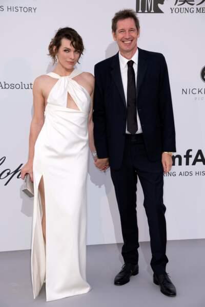 Milla Jovovich et Paul WS Anderson sont abonnés aux filles, le 02 février....