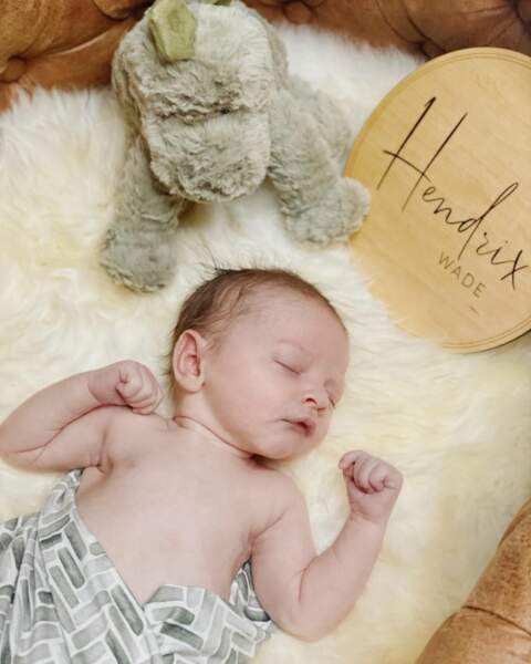 Hendrix Wade né le 6 novembre