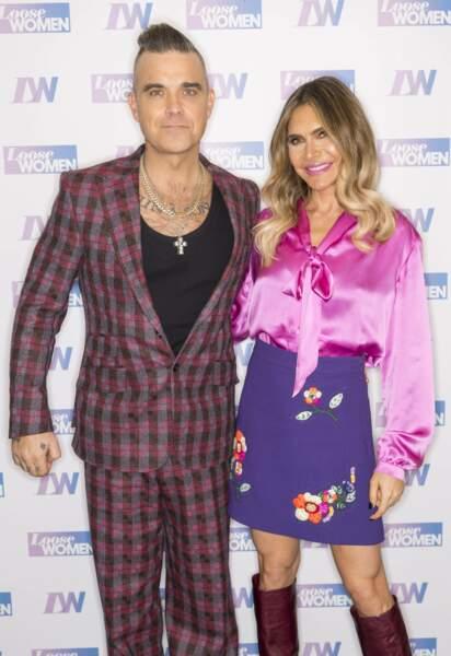 Robbie Williams et Ayda Williams ont annoncé la naissance de leur quatrième enfant par un cliché original