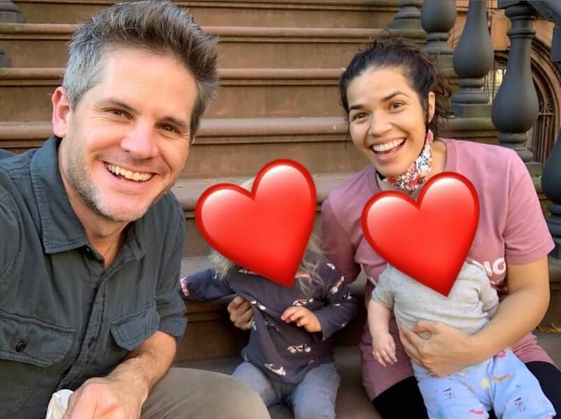 Ryan et America plein d'amour pour leur famille
