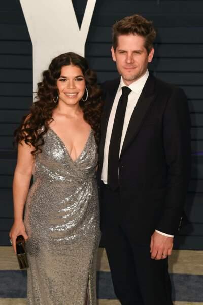 """L'actrice de """"Ugly Betty"""", America Ferrera et son mari Ryan Piers Williams ont accueilli leur deuxième enfant"""