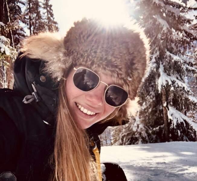 Amandine Petit adore la montagne !