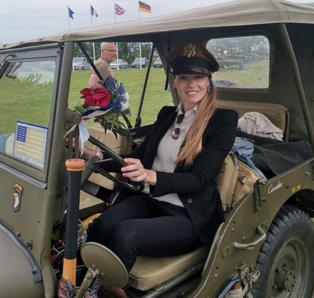 Miss Normandie lors du 75e anniversaire du débarquement