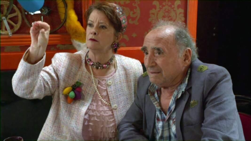 """Brasseur joue le commandant dans le long métrage de Jean-Pierre Mocky """"Le Renard jaune"""" (2013)"""