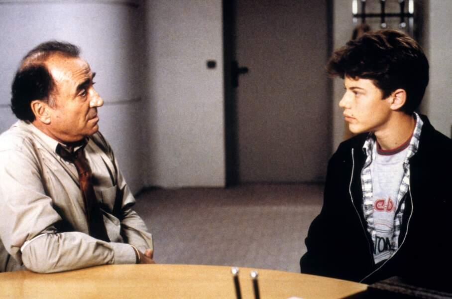 """1994 : il joue le rôle du commissaire Guérin dans """"Délit mineur"""""""