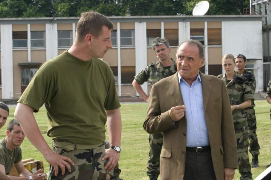 """Brasseur est aussi le héros de la série """"Franck Keller"""" (2003)"""