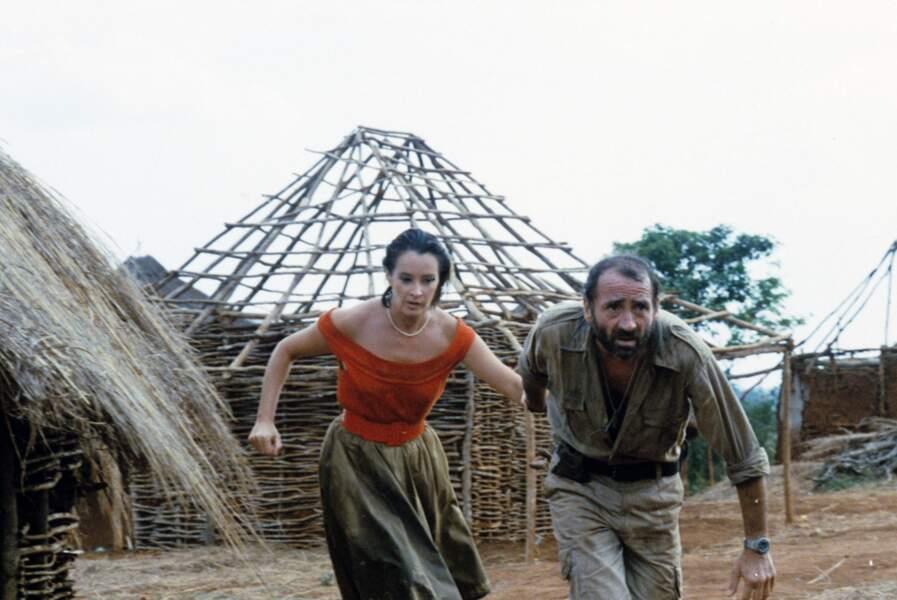 1984, avec Dominique Lavanant dans Le léopard de Jean-Claude Sussfeld.