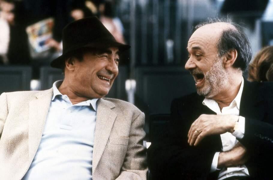 """L'acteur fait face à """"La Débandade"""" de et avec Claude Berri (1999)"""