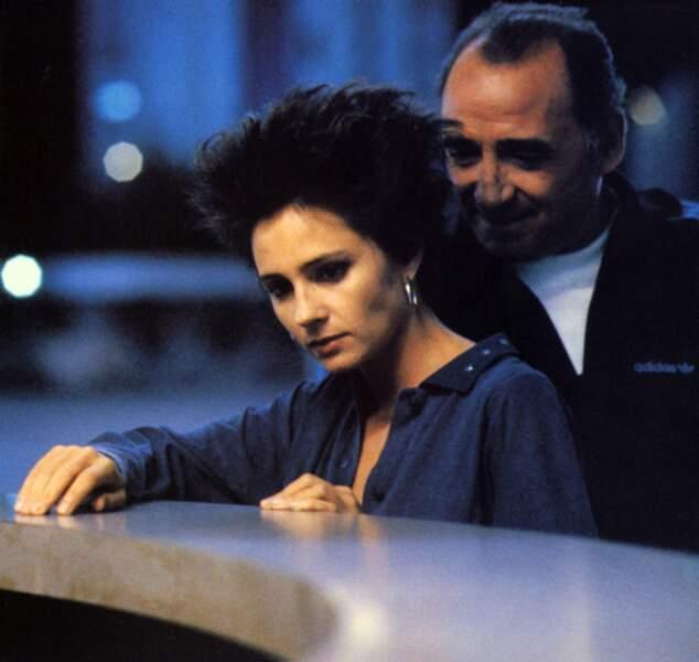 """Brasseur donne la réplique en 1993 à Anouk Grinberg, héroïne du film de Bertrand Blier """"Un deux trois soleil"""""""
