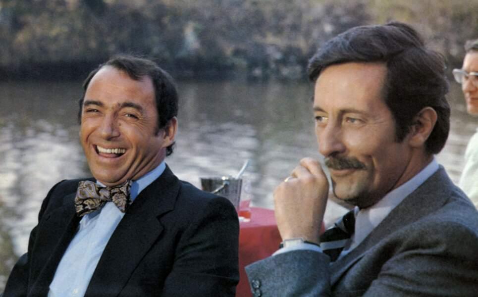 Avec Jean Rochefort dans le célèbre Un éléphant ça trompe énormément d'Yves Robert en 1976