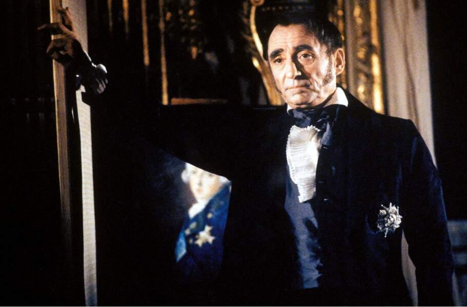 """ll incarne Fouché dans le film historique """"le Souper"""" (1992)"""