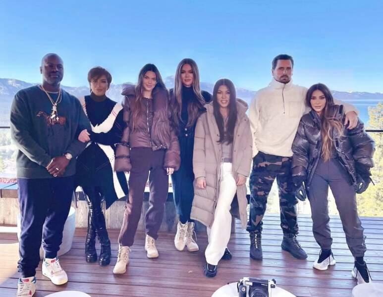 Le clan Kardashian a choisi d'aller passer Noël au bord du lac Tahoe, à cheval entre la Californie et le Nevada