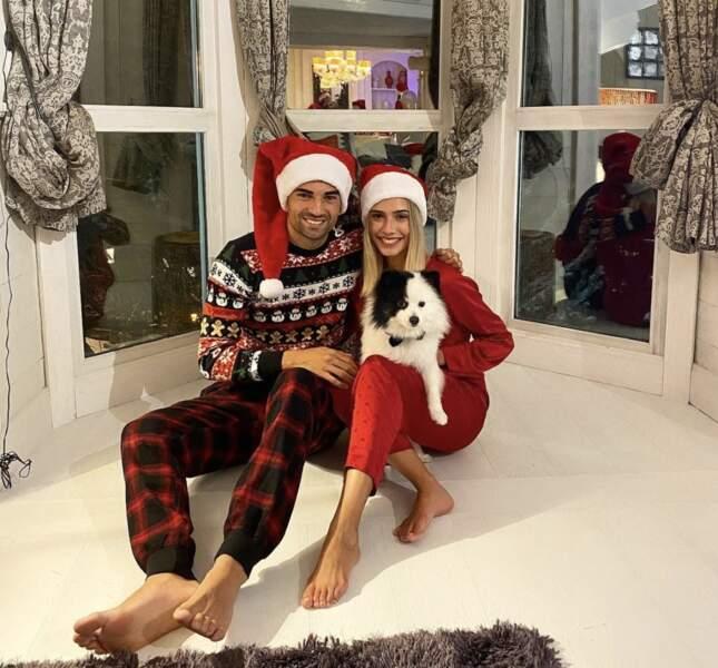 Enzo Zidane et sa chérie ont bien fêté Noël