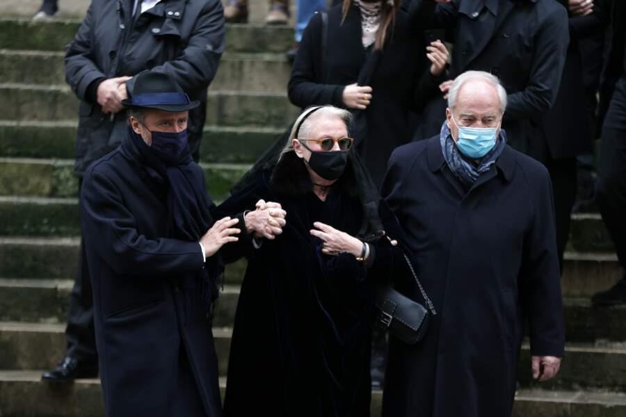 Obsèques de Claude Brasseur a l'Eglise Saint Roch de Paris