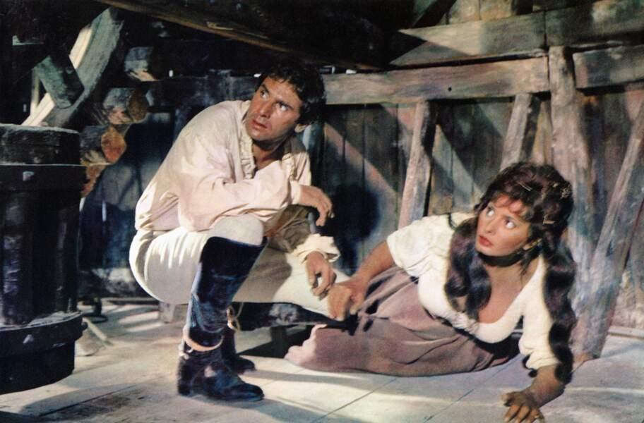 Avec Sophia Loren dans Madame Sans-Gêne (1961)