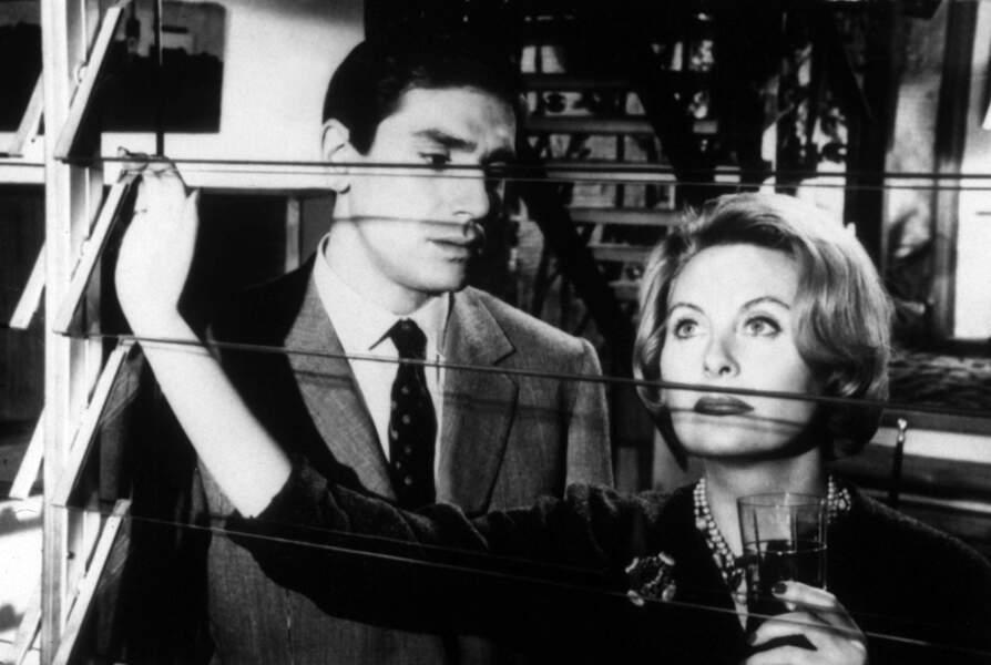 Avec Michèle Morgan dans Les Scélérats (1960)