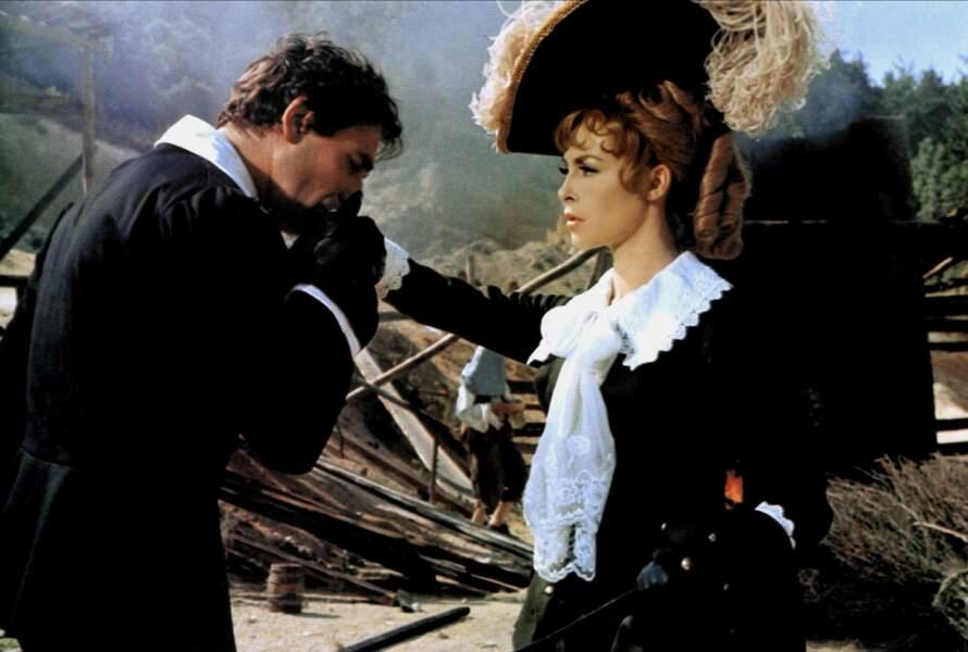 Avec Michele Mercier dans Marquise Des Anges (1964)