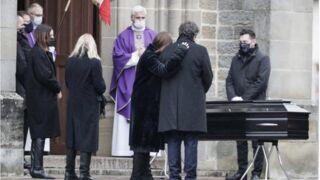 Obsèques de Robert Hossein : sa veuve Candice Patou et son fils Julien Hossein, très émus (PHOTOS)