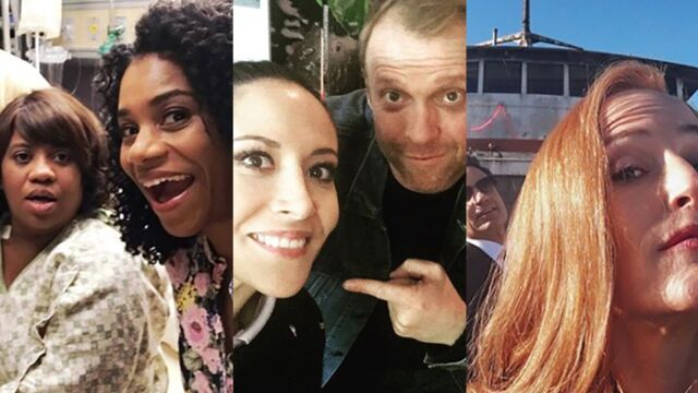 Tournages : les acteurs s'éclatent dans Grey's Anatomy, Les Feux de l'amour, Plus belle la vie... (PHOTOS)