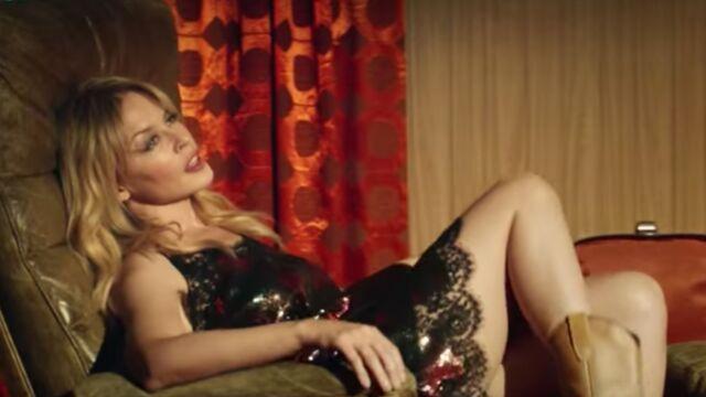 Le clip de la semaine : Kylie Minogue, sublime cowgirl dans Dancing (VIDEO)